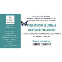 Curso intensivo de limpeza e recuperação para adultos – 8 a 14 Setembro de 2018