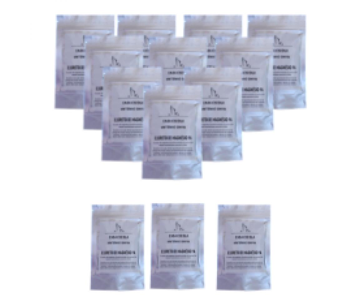 Cloreto de Magnésio PA 10 embalagens de 100gr + 3 embalagens de 100gr de oferta