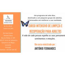 Curso intensivo de limpeza e recuperação para adultos – 12 a 18 Janeiro 2019