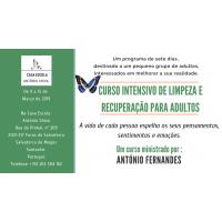 Curso intensivo de limpeza e recuperação para adultos – 9 a 15 de Março de 2019