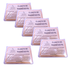 Cloreto de Magnésio PA 5 embalagens de 100gr + 100gr de oferta